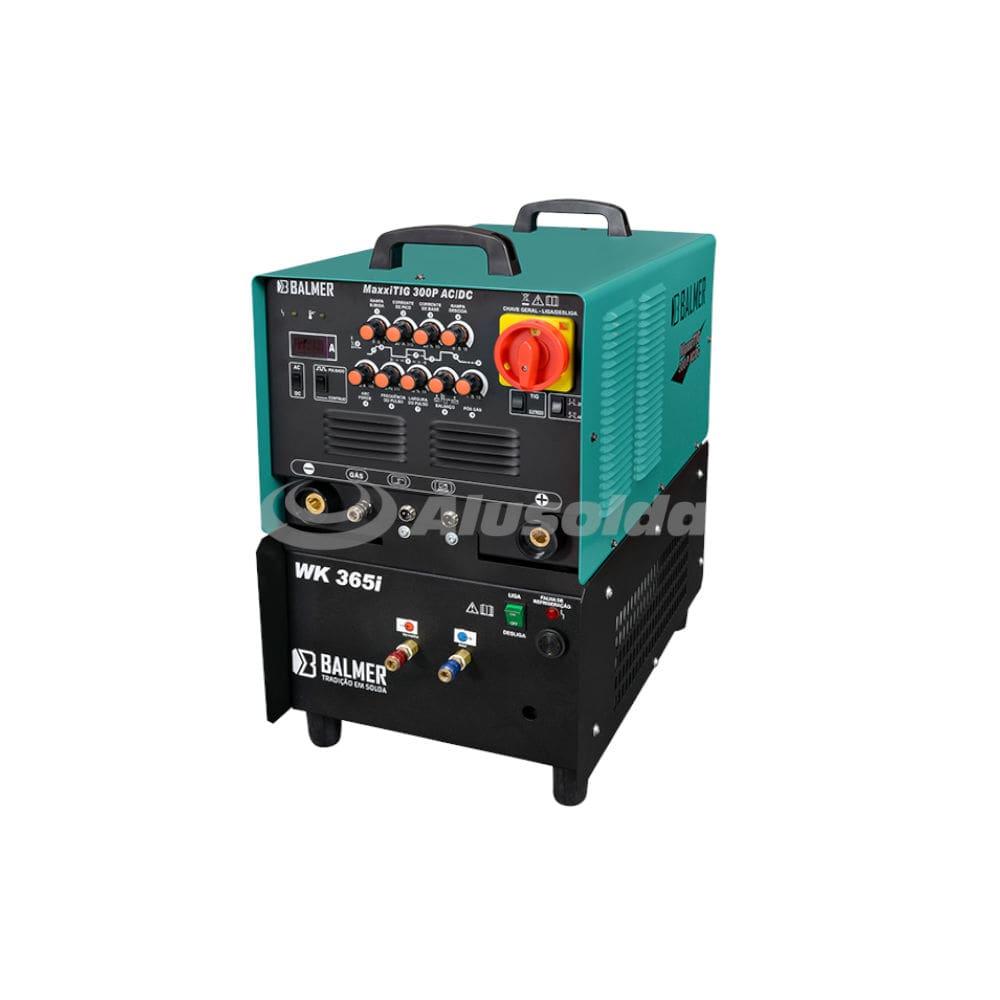 máquina ideal para soldar alumínio balmer maxxitig 300p 30v