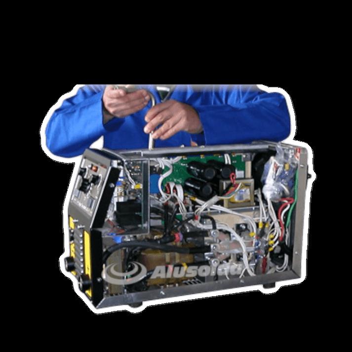 Assistência técnica e manutenção de máquina de solda